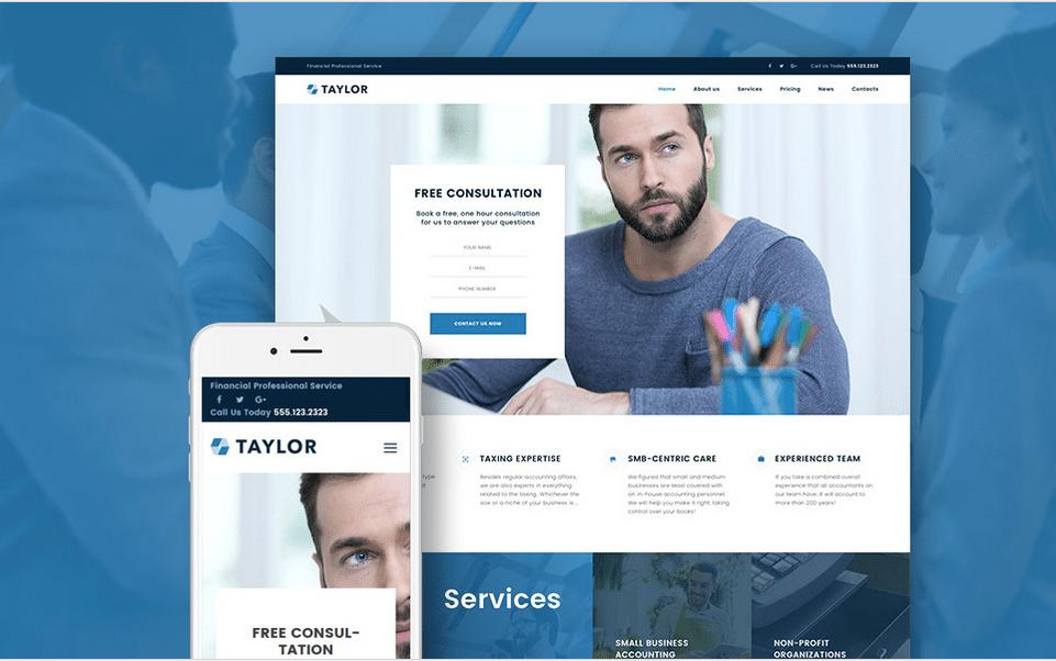 Taylor - Financial Theme - WordPress Maintenance