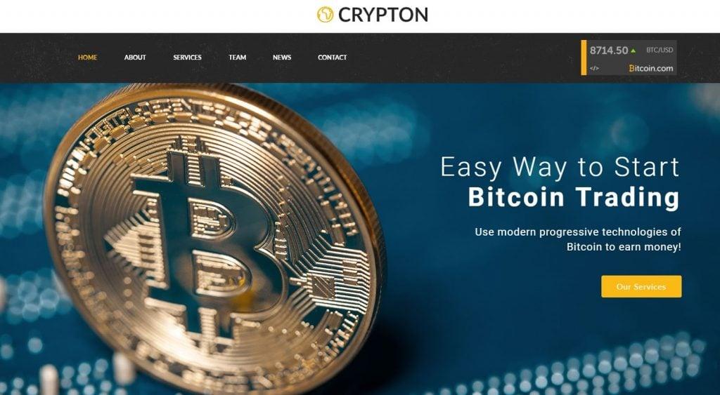 best crypto templates