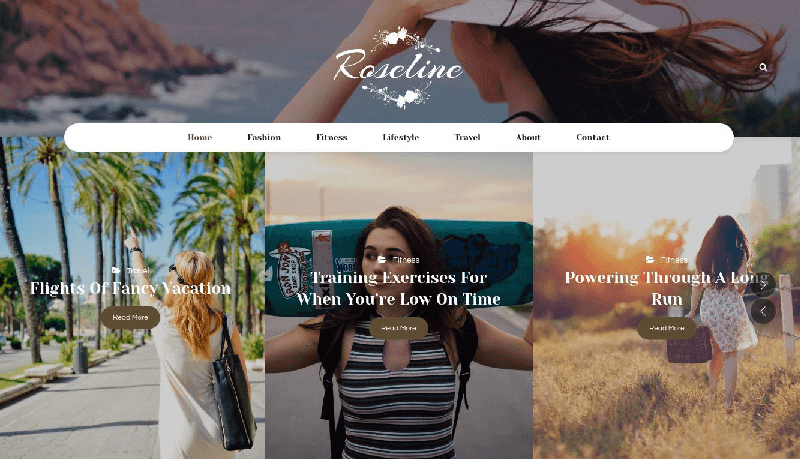 personal-blog-roseline
