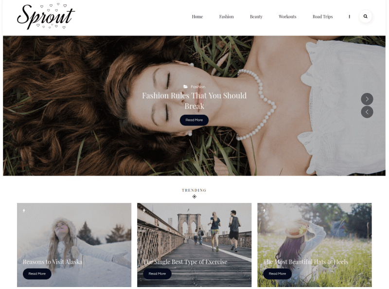 personal-blog-sprout