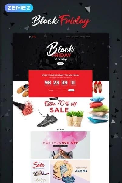 Black Friday - Event Planner Elementor WordPress Theme