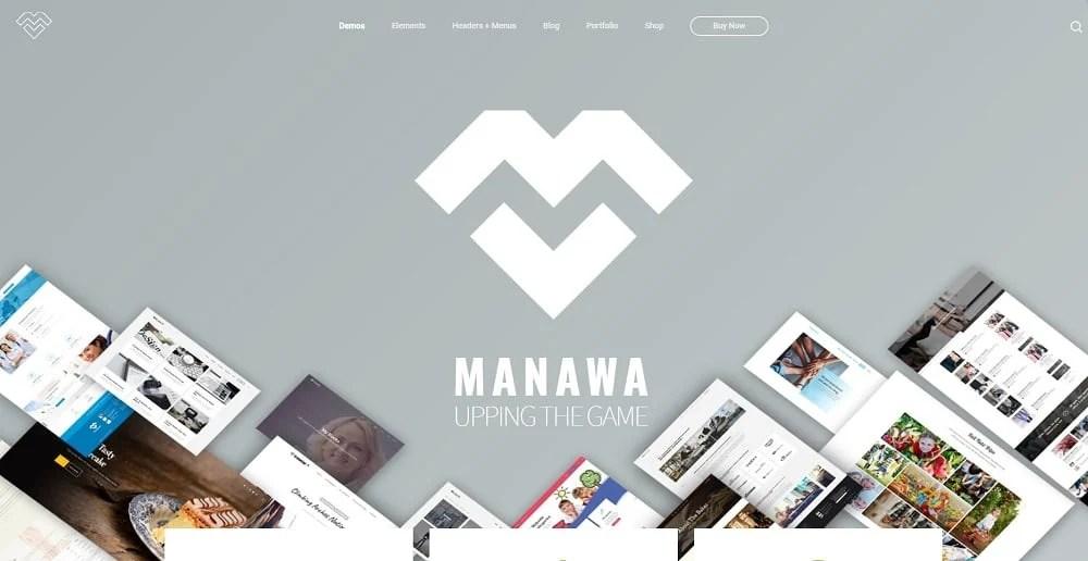 Manawa - Multi-Purpose WordPress Theme WordPress Theme
