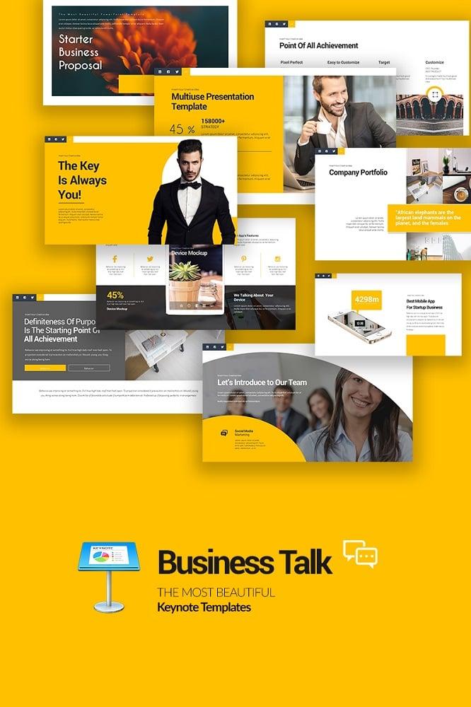 Business Talk Keynote Template