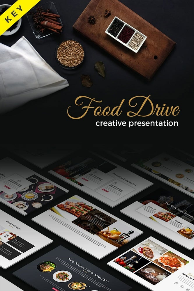 Food Drive - Keynote Template