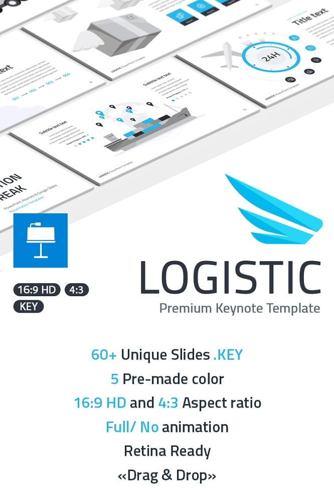 Logistic Keynote Template