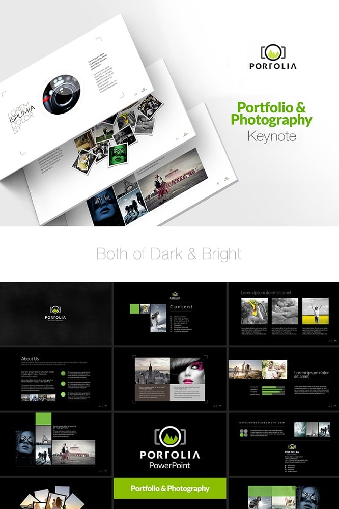 Portfolio & Product Showcase Presentation Keynote Template