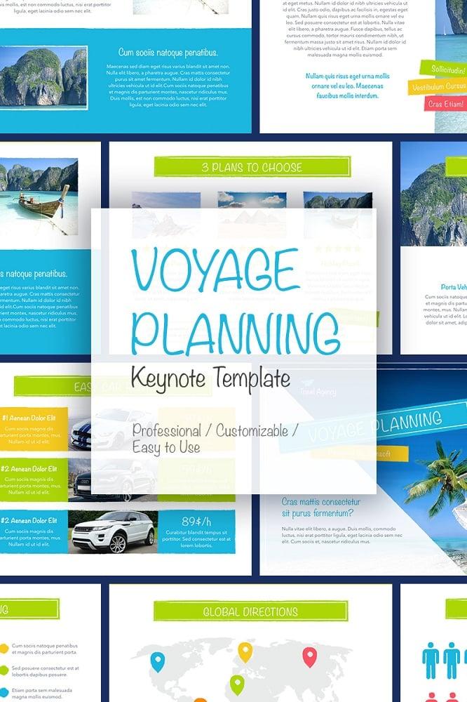 Voyage Keynote Template
