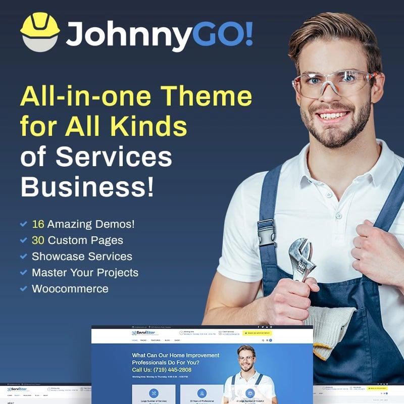 Multipurpose Home Services WordPress Theme