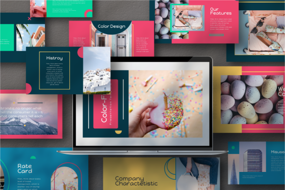 Color Fun PowerPoint Template