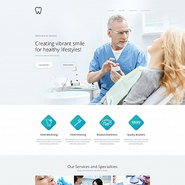Free Dentist WordPress Template Free Templates Online