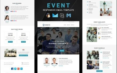 (opens in a new tab or window) 1 of 2. Business Newsletter Templates From Templatemonster