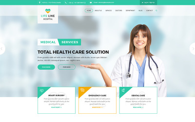 Use ⏩simple, ⏩fast, and ⏩responsive themes for doctors, clinics,. Medical Html Website Templates Download Html Css Themes