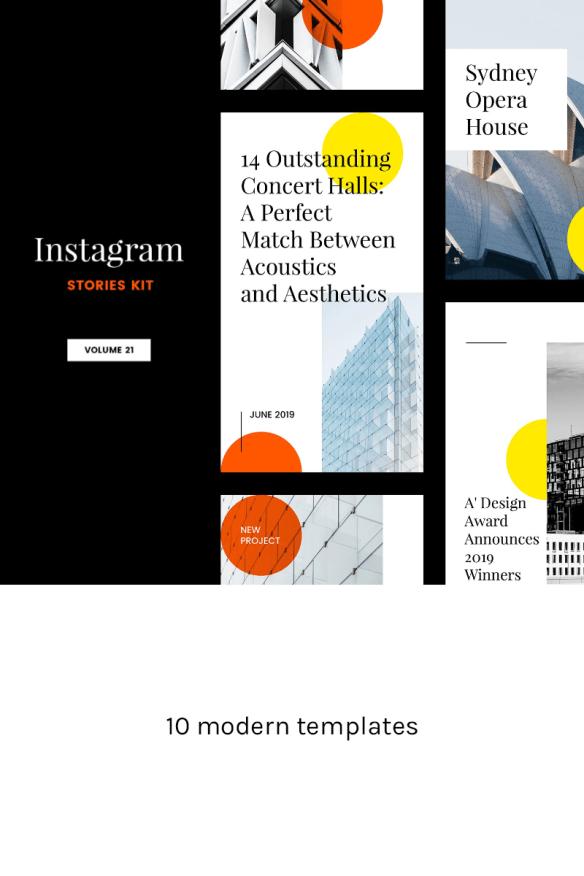 Instagram Stories Kit