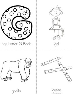Letter G Books Twisty Noodle