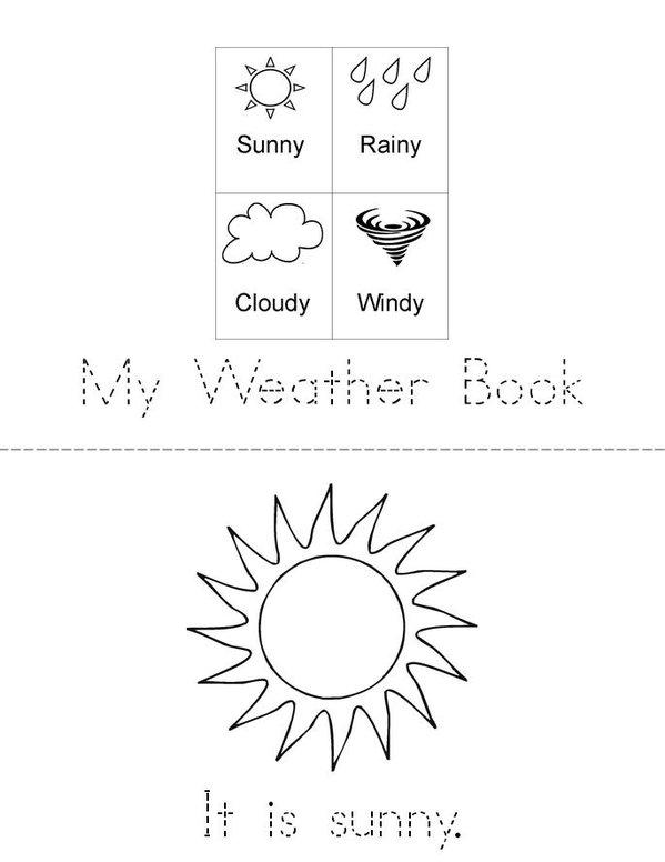 My Weather Book Twisty Noodle