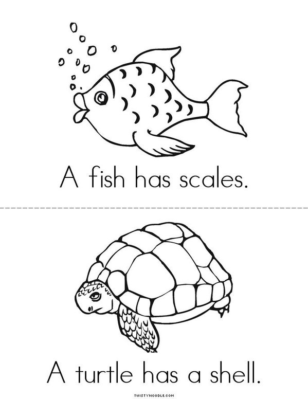 Fur feathers scales and shells book twisty noodle, love coloring book pages