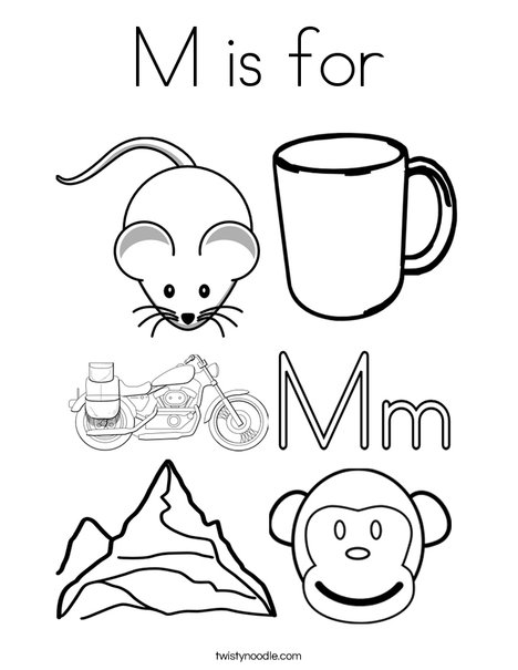mm coloring pages # 7
