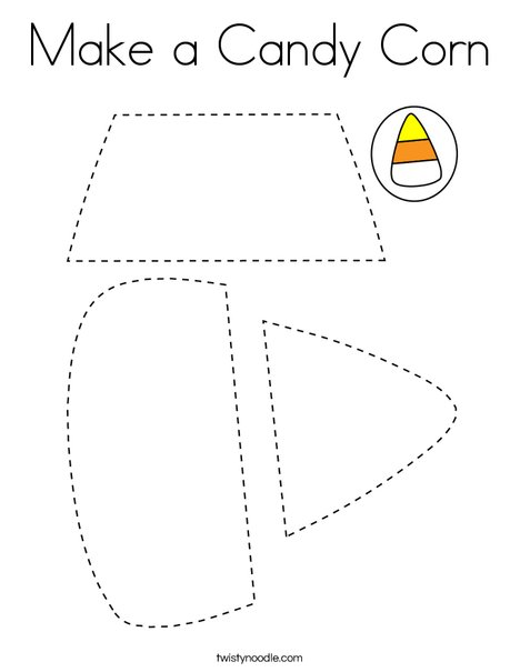 make a candy corn coloring page  twisty noodle