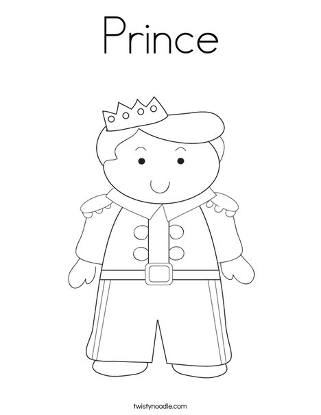 prince coloring pages # 1