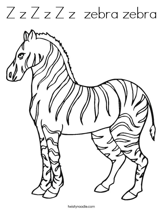 Z z z z z z zebra zebra coloring page twisty noodle, i love my daddy coloring pages