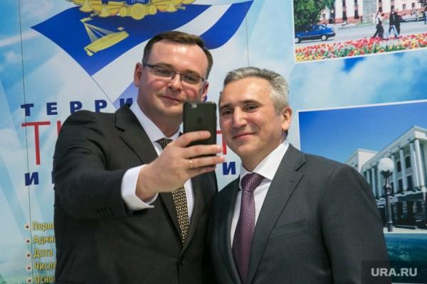 Новый губернатор Тюменской области впервые вышел к людям