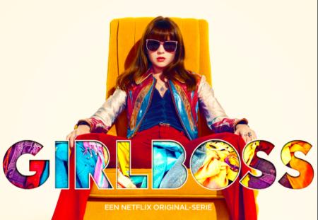 Britt Robertson in Girlboss op Netflix België trailer
