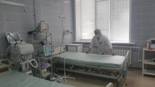 В Тамбовской ЦРБ перепрофилировали стационар под лечение ...