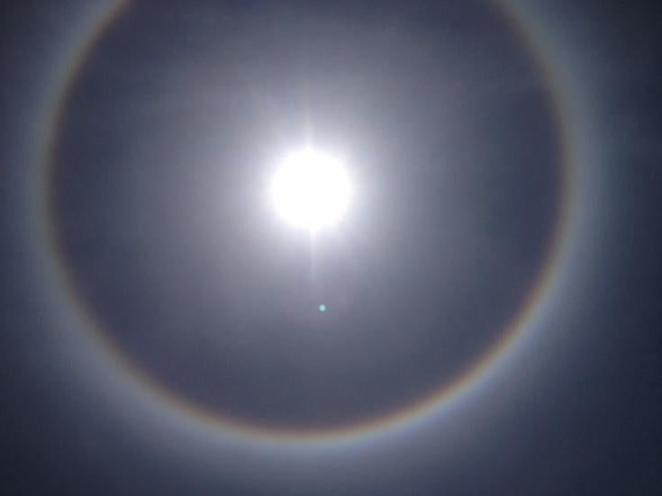 Sun With Ring Around It