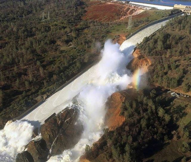 Over 19000 Seismic Events Linked To Oroville Dam Spillway The Weather Channel