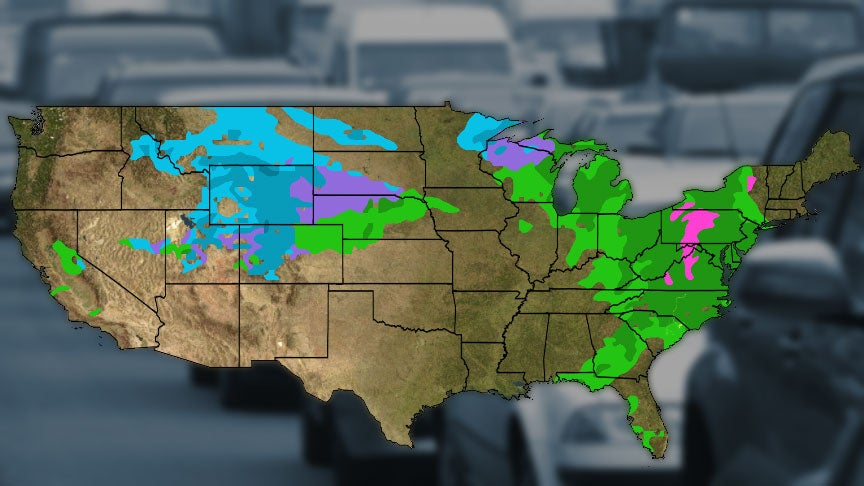 Usa National Weather Map.Travel Weather Forecast Usa Find Your World