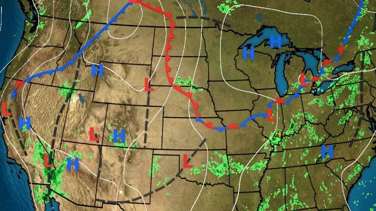 HD Decor Images » The Weather Channel Maps   weather com Current US Surface Weather Map