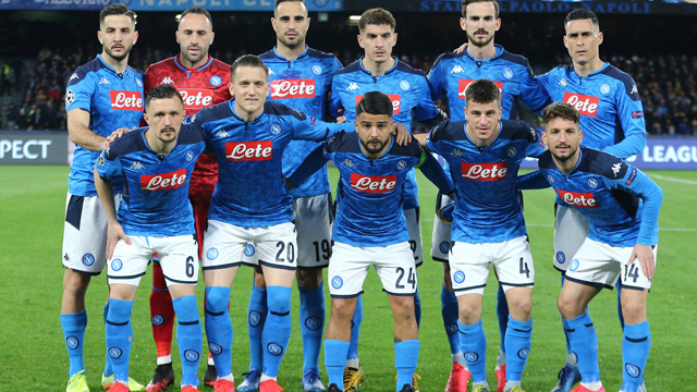 Image result for Napoli  squad 2017