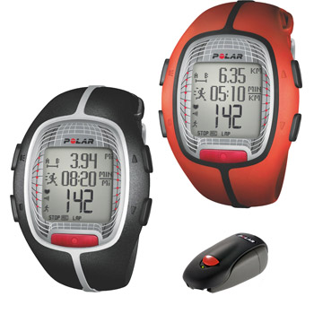 Polar RS300X Running Heart Rate Monitor with Foot Pod
