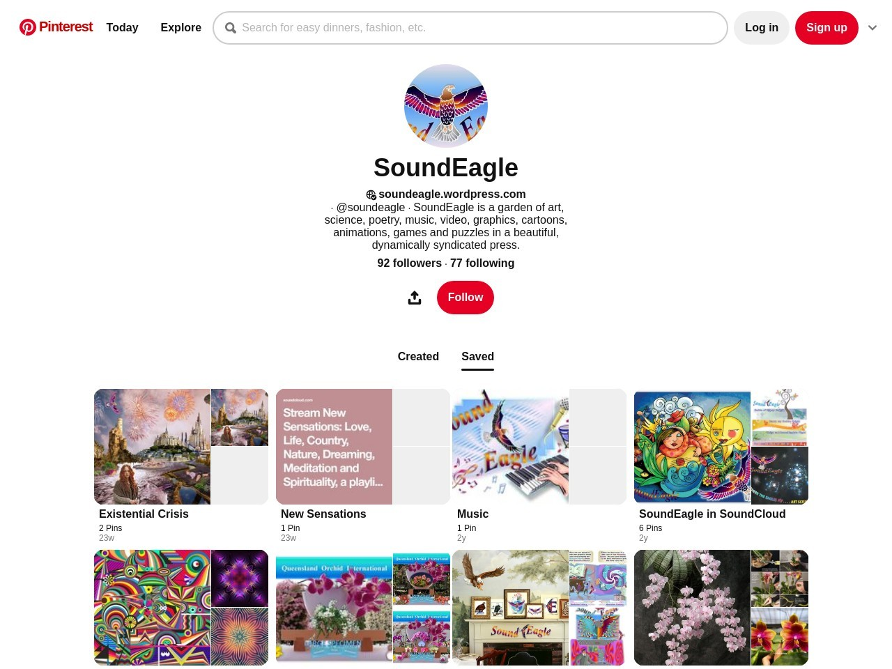 SoundEagle on Pinterest