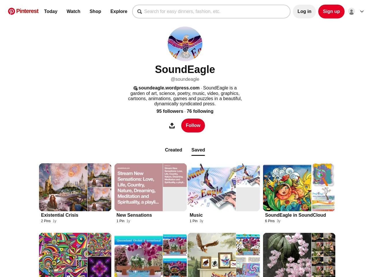 SoundEagle on Pinterest