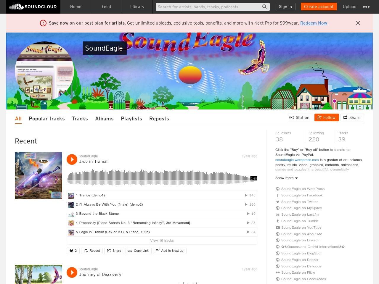 SoundEagle on SoundCloud