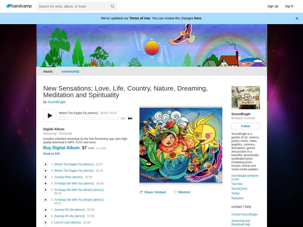 SoundEagle on BandCamp
