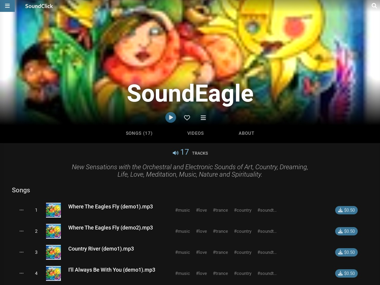 SoundEagle on SoundClick