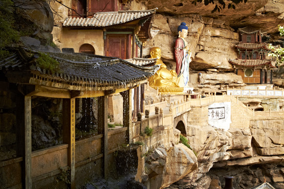 Tea Horse Road Yunnan Shaxi Baoxing temple