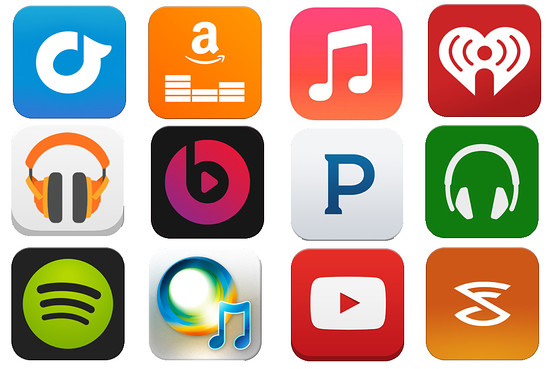 Downloading music loses market shares to streaming services