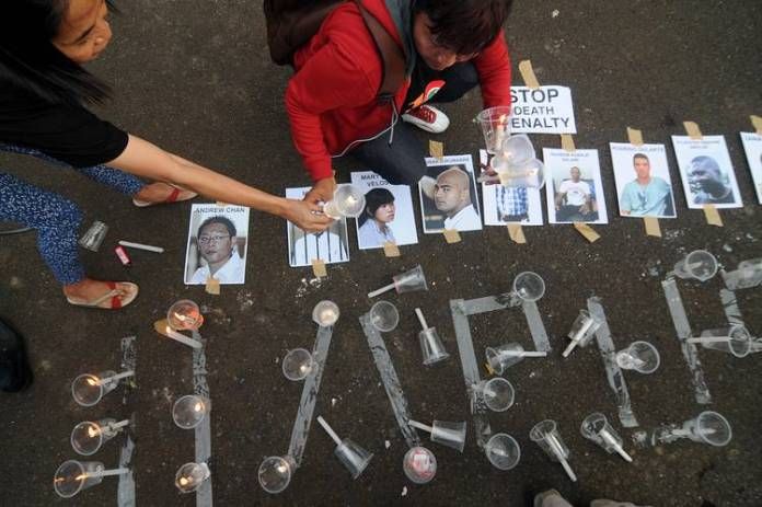 Indonesia Executes Seven Foreigners In Drug Cases Wsj