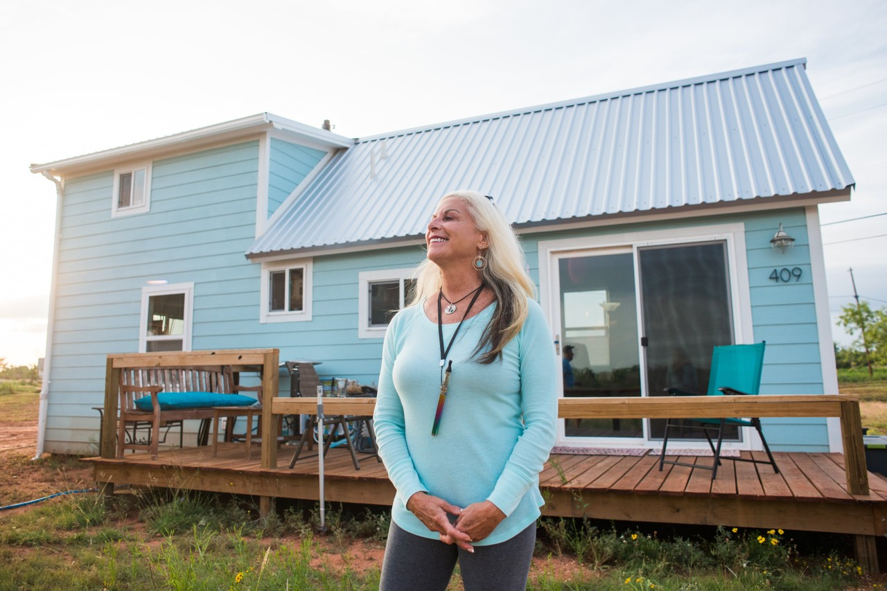 Best Kitchen Gallery: West Texas Town Finds 'tiny House' Crowd A Bit Too Earthy Wsj of Tiny House Builders In Texas on rachelxblog.com