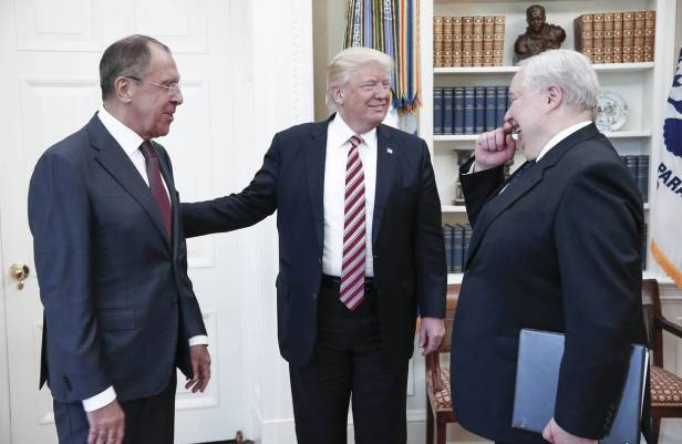 Trump Shared Intelligence Secrets With Russians in Oval Office Meeting - WSJ