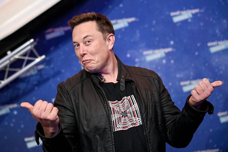 Elon Musk updated his Twitter bio