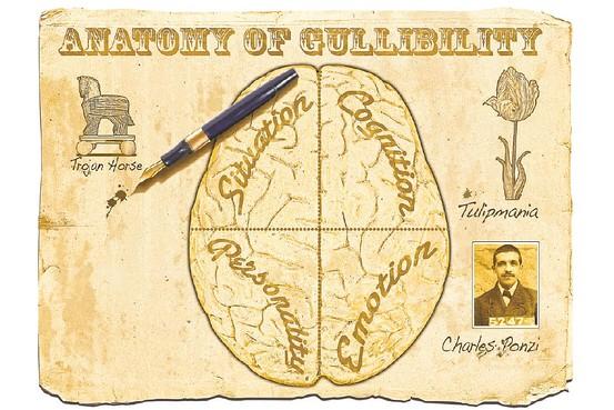 [anatomy of gullibility]