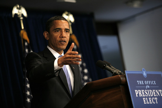 President-elect Barack Obama sees the risk of not spending enough to be greater than the risk of larger deficits.