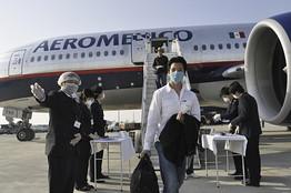 [AeroMexico Flight]