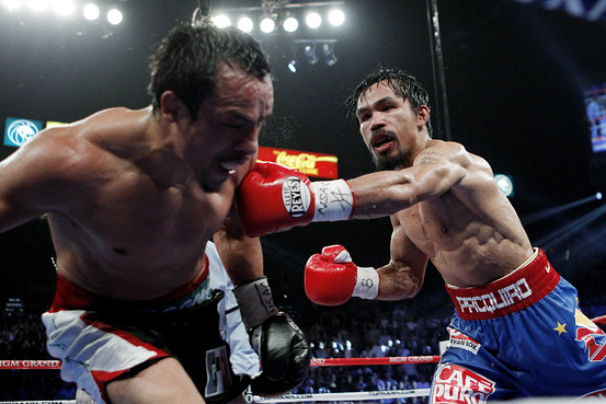 Pacquiao Edges Brutal Bout The Daily Fix WSJ