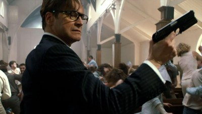 Gentleman spy Colin Firth kicks arse in Kingsman: The Secret Service