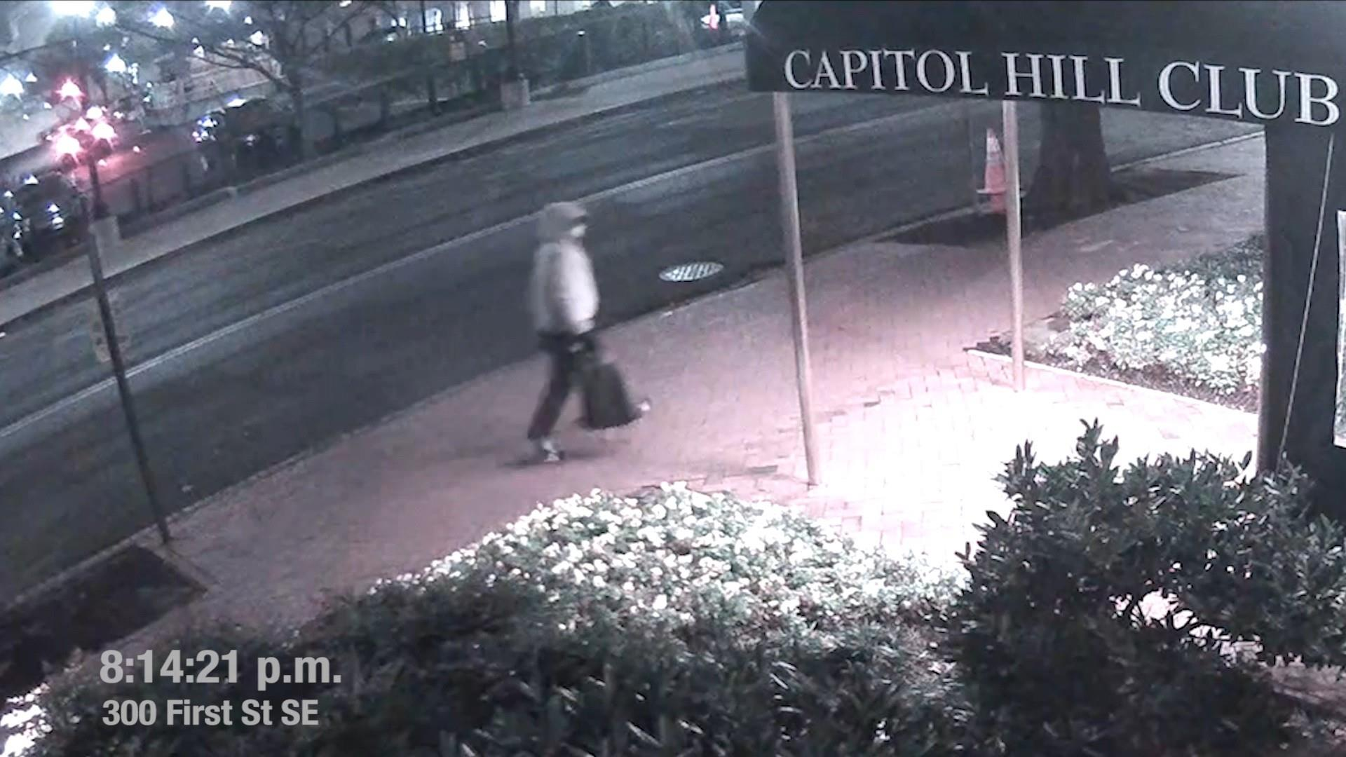 FBI releases new video of person planting bombs before Capitol riot